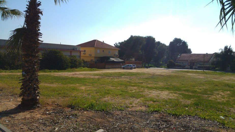 השטח המיועד לבנייה (צילום: דוברות בנימינה-גבעת עדה)