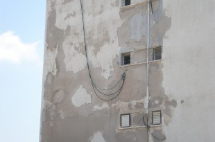 בניין בקרית חיים. (צילום, ארכיון)
