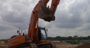 גניבת חול (צילום: רשות מקרקעי ישראל)