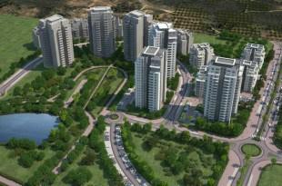 """שכונת אמירי פארק חדרה (צילום: יח""""צ)"""