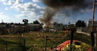 "שריפה במזרעה אצל פאוזי דראז (צילום: אל""ס)"