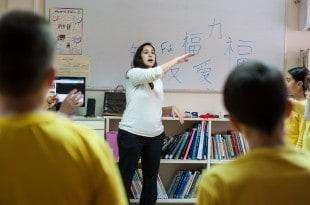 לימודי סינית בית ספר בן גוריון קרית מוצקין (צילום: דורון גולן)