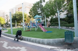 פארק רבין (צילום: אלכס הובר)