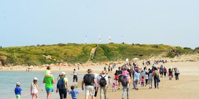 שלושה מסלולים. חוף דור (צילום: עמותת כרמלים)