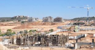 יישוב מצוקה קטן או עיר צומחת? העיר החדשה חריש בבנייה צילום: יוסף כהן