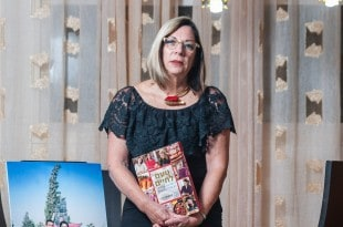 """אורה לפר מינץ, אמו של רז מינץ ז""""ל (צילום: דורון גולן)"""