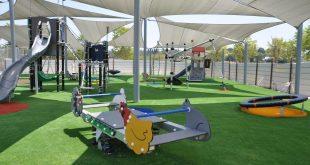 גן משחקים חדש (צילום: רפי עשור)
