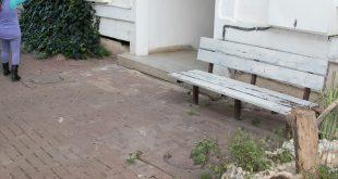 נזילות בלי סוף רחוב התאנה בכרמיאל (צילום: אלכס הובר)