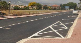 שיקום רחוב כנרת (צילום: רפי עשור)