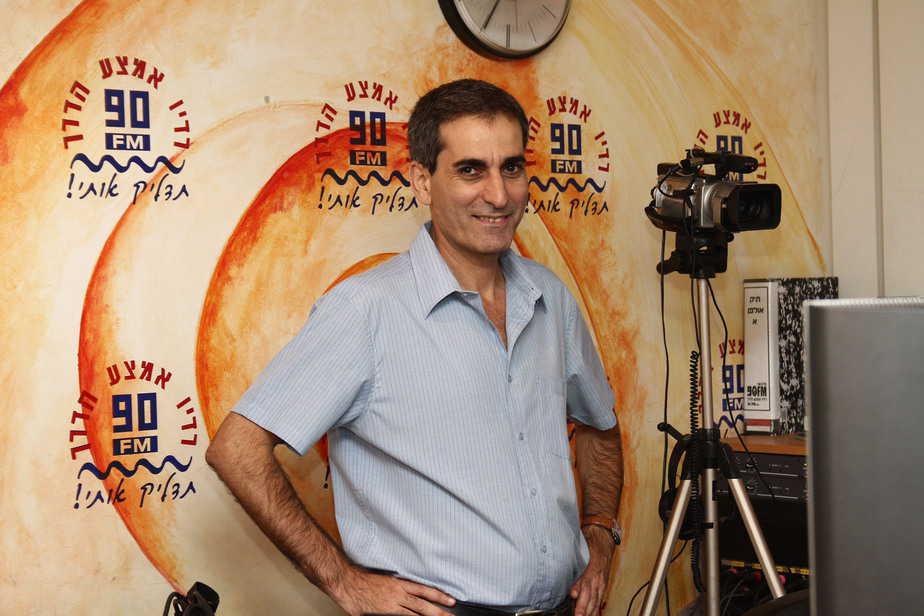 """אהרון אורגד מנכ""""ל רדיו 90 FM (צילום: רדיו 90)"""