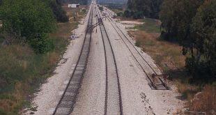 מסילת תחנת הרכבת ה(צילום: רותי ברמן)