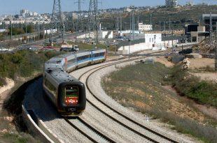 """רכבת ישראל (צילום: משה מילנר, לע""""מ)"""