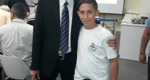 שגב אוחיון ואבי לוי (צילום עצמי)