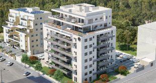 בחודשיים בלבד נמכרו יותר מ~80 אחוז מהדירות. SELA M הדמיית מחשב