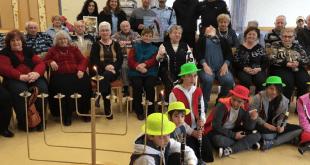 הפעילות עם הקשישים (צילום עצמי)