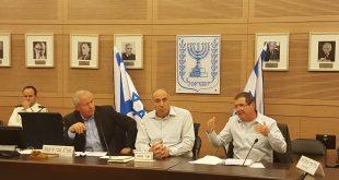 חברי הכנסת: אייל בן ראובן, מוטי יוגב, אבי דיכטר (צילום עצמי)