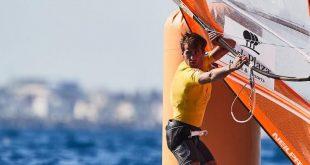 יואב עומר. יעשה קפיצת מדרגה (צילום: מועדון השיט שדות ים)