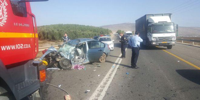 תאונה ליד חנתון
