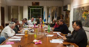 מועצת עיר קרית מוצקין. צילום: דורון גולן