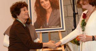 ד'ר אורנה מילר מקבלת את הפרס צילום: אלמוג בנימין