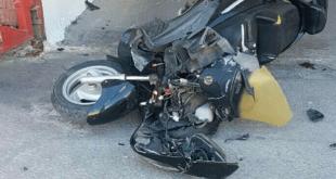 האופנוע הנטוש(צילום דוברות המשטרה)