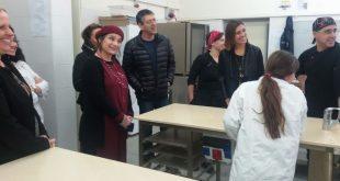 משלחת של משרד החינוך בקרית מוצקין. צילום: דוברות העירייה
