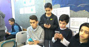 """תלמידי ניצנים שהשתתפו בתחרות (צילום: יח""""צ)"""