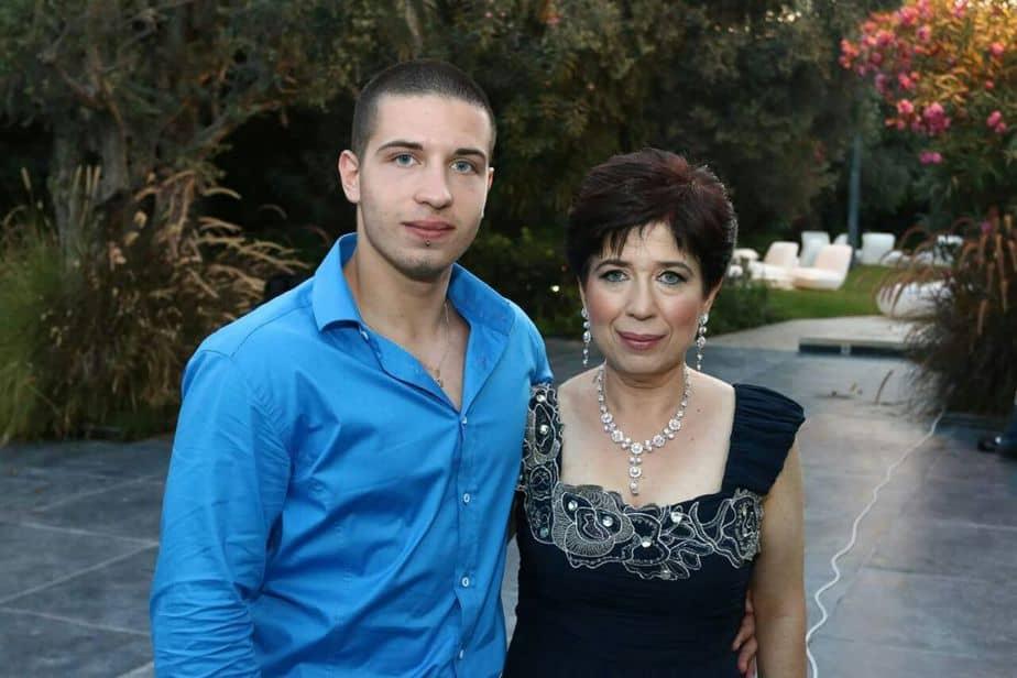 אילן וסווטלנה יענקלביץ צילום מאלבום המשפחה