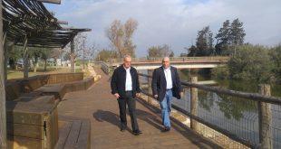 גשר הצבים (צילום מועצת עמר חפר)