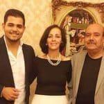 משפחת דנדן, האם רנא, האב חאלד ואמיר