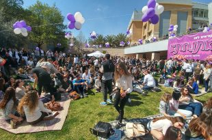 הפנינג החזרה ללימודים (צילום: דובורת הסטודנטים)