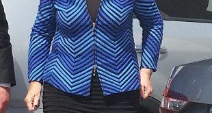 ראש העירייה מרים פיירברג איכר השבוע (צילום: רותי ברמן)