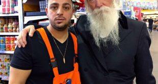 בן מויאל והרב גרוסמן (צילום עצמי)