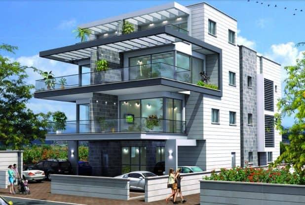 """חמש דירות בוטיק באיכות בנייה ללא פשרות. רנ""""ס 19 הדמיה: יח""""צ"""