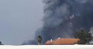 """אש עשן והדף. צילום (בט""""ש וחירום)"""