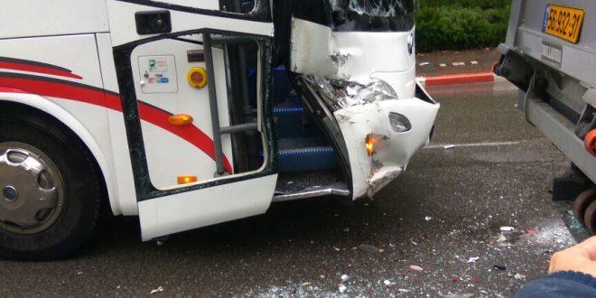 זירת התאונה. צילום
