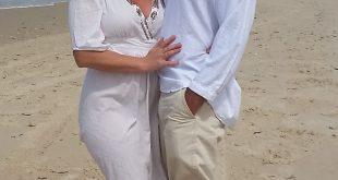 חגגו יום נישואין. גלית חוף וטובי שמה צילום רותי ברמן