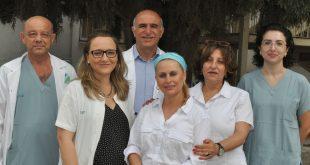 הצוות הרפואי מרוצה (צילום דוברות בית החולים)