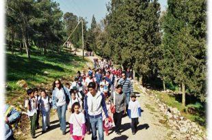 צעדת גבעת המורה (צילום עצמי)