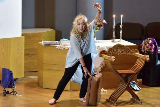 רותי פרדס ריקוד חייה (צילום: ליאורה איגר-דרייפוס)