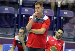 בהלם. המאמן נועם כץ מנסה לעכל את אובדן האליפות (צילום: דורית ריטבו)