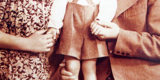 בצלאל והוריו (צילום: אדריאן הרבשטיין)