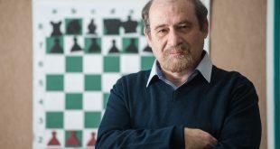 אנטולי גרינפלד, מאמן שחמט. צילום: דורון גולן