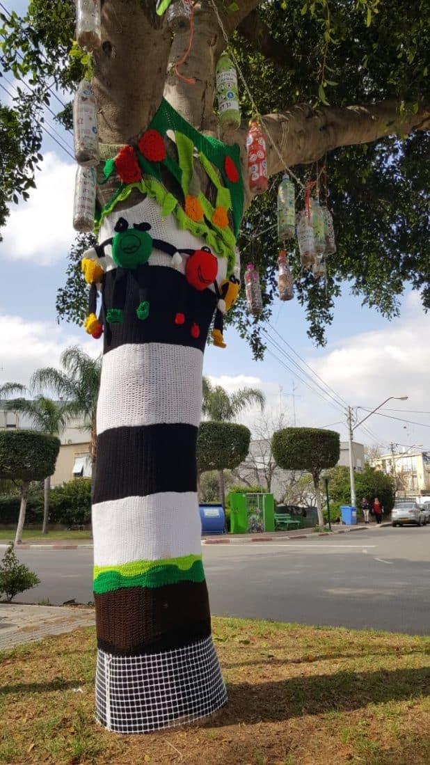 עץ המשאלות בקרית ביאליק. צילום: דוברות העירייה