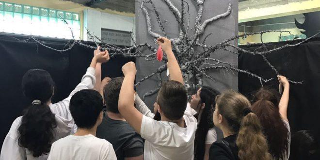 לזכרם של הילדים שנפסו בשואה. צילום: דוברות העירייה