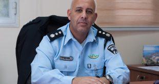 """נצ""""מ קובי קרני, מפקד משטרת זבולון. צילום: דורון גולן"""