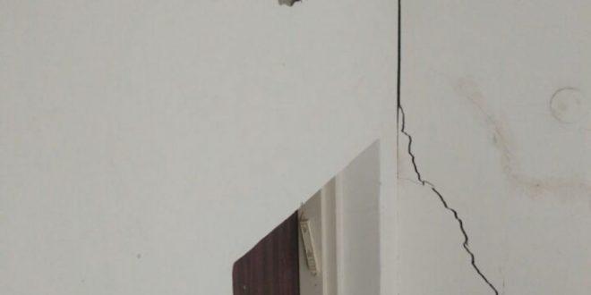 סדקים בבניין, סכנת נפשות