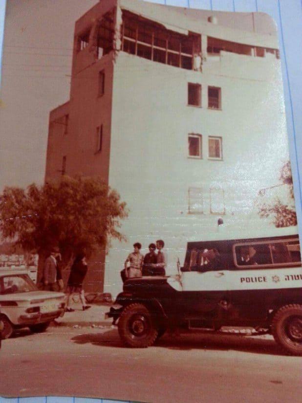 הבית ברחוב יהודה לוי 15 ביום הפיגוע צילומים: אלבום משפחתי