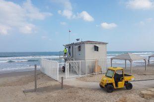 חוף ימית. צילום: דוברות העירייה