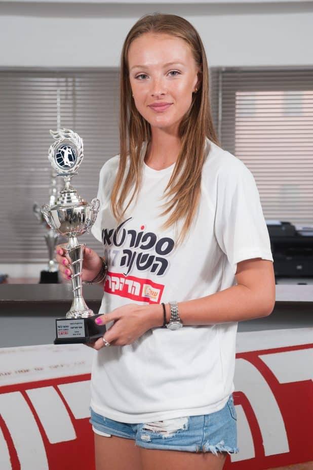 סופי סטריקוב – כדורעפנית השנה של 'הד הקריות' (צילום: דורון גולן)